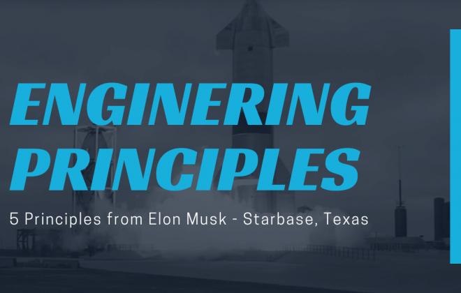 Elon Musk Engineering Principles